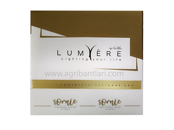 lumiere collagen maske & sornie colojen bant